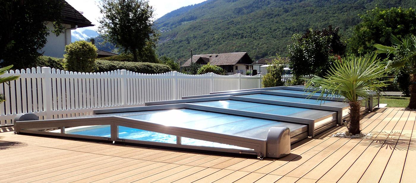 Abri de piscine - piscines télescopiques Suisse | EUROPA abris de ...