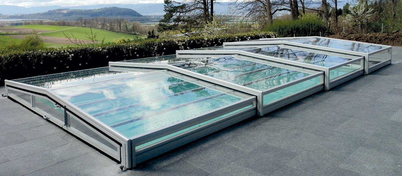 Abri de piscine piscines t lescopiques suisse europa for Abri de piscine suisse