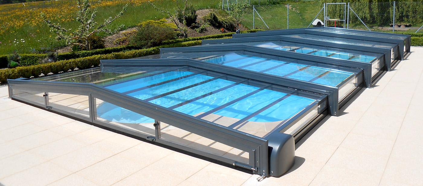 Abri de piscine piscines t lescopiques suisse europa for Pool auf raten bestellen